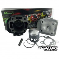 Cylinder kit Top performance Black Trophy 70cc