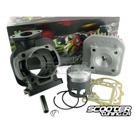 cylinder kit top performance black trophy 70cc 10mm distribution scootertuning. Black Bedroom Furniture Sets. Home Design Ideas