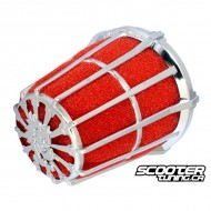 Airfilter Malossi E5 Red/Chrome (36/38mm)