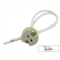 Halogen bulb Socket connection
