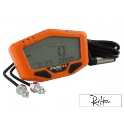 Speedometer Stage6 Orange