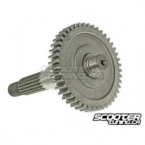 Secondary Gear Shaft CPI - 44 Teeth