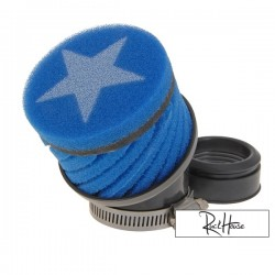 Airfilter Stage6 short Blue (44mm)