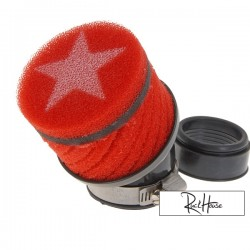 Airfilter Stage6 short Red (44mm)