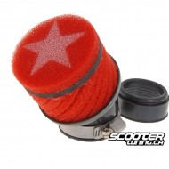 Airfilter Stage6 short Red (48mm)