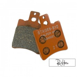 Front Brake Pads Stage6 Racing (Bws'r/Zuma)
