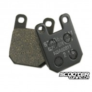 Front Brake Pads Stage6 (Derbi)
