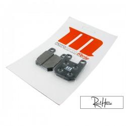 Front Brake Pads Motoforce RACING (Derbi)