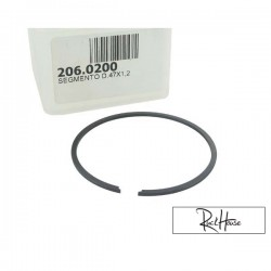 Piston ring Polini Sport 70cc cast-iron (47x1.2mm)