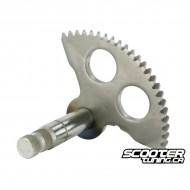Parts kickstart shaft Minarelli long MA/MY/CW