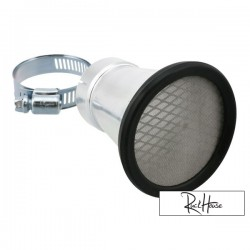 Bell mouth STR8, incl. Mesh insert, connection size 35mm