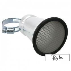 Bell mouth STR8, incl mesh insert, connection size 42mm