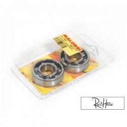 Crankshaft bearings Malossi (set of 2) Minarelli
