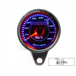 Analog Speedometer (Km/h only)