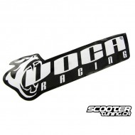 Sticker Voca Racing Black/White 11x4cm