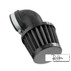 Airfilter Tun'r KN style 90° (28-35mm) Carbon