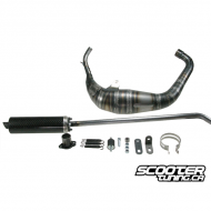 Exhaust System VOCA Racing Carbon 80cc