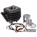 Cylinder Kit Teknix 50cc 10mm Minarelli Horizontal