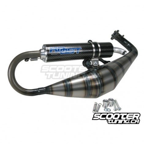Exhaust system Roost BE84 (Piaggio)