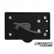 Licence Plate Holder rPRO Black (GY6)