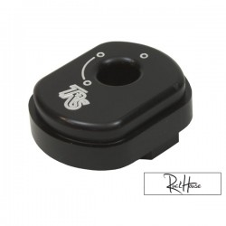 Key Ignition cover TRS Billet CNC Black Honda Ruckus