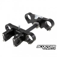 Pitbike Fork yoke Voca Racing CNC (45/48mm) 170mm (Black) Pitbike