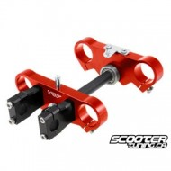 Pitbike Fork yoke Voca Racing CNC (45/48mm) 170mm (Red) Pitbike