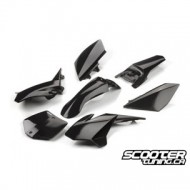 Pitbike Bodykit (7 parts) VocaHawk (Black) Pitbike