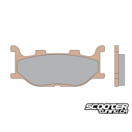 Front Brake Pads Malossi Synt (Double disc brake)