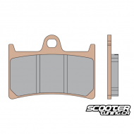 Front Brake Pads MHR Synt
