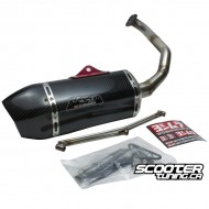 Exhaust Yoshimura RS-9 Full Carbon (GY6)