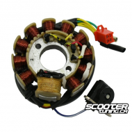 GY6 11 Coil Stator 3 Phase – AC CDI (157QMJ)