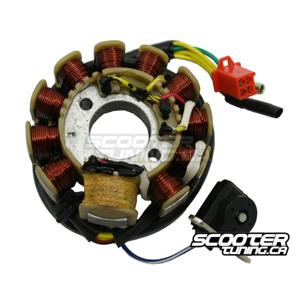 Gy6 11 Coil Stator 3 Phase Ac Cdi 157qmj