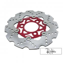 Brake Disc Adelin 220mm Red