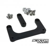 Headlight Lowering kit TRS Bolt-On Black