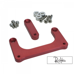 Headlight Lowering kit TRS Bolt-On Red Honda Ruckus