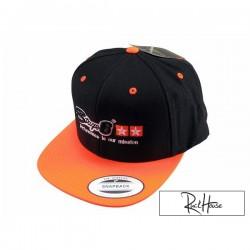 Baseball Cap Stage6 Snapback Black/Orange