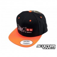 Baseball Cap Stage6 Snapback Black/Orange