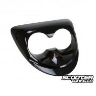 Twin Headlight Cover PGO Black