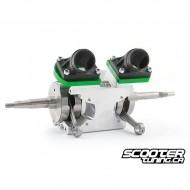 Twin Cylinder Crankcase MXS Racing