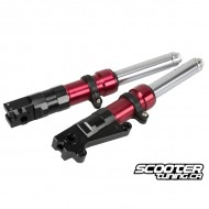 Slammed Low Down Fork Legs 320mm Red (Ruckus)