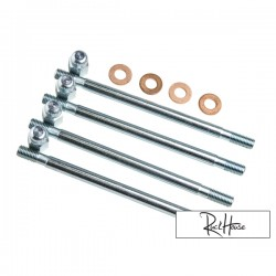 Extended Cylinder studs Polini M7x123mm (4)