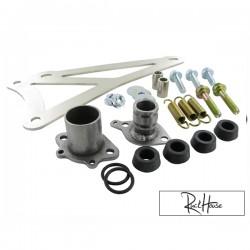 Exhaust Bracket Complete Yasuni C16 Minarelli horizontal