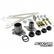 Exhaust Bracket Complete Yasuni C20 Minarelli horizontal