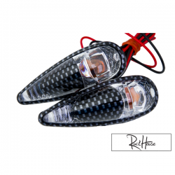 (2X) Indicator Light Tun'r Raindrop Double Carbon