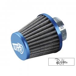 Air filter Tun'r KN Style straight Blue (28-35mm)