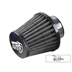 Airfilter Tun'r KN Style straight Carbon (28-35mm)