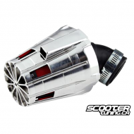 Airfilter Tun'r Adjustable Housing Chrome (28-35mm)