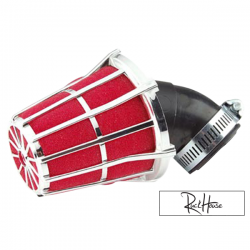 Airfilter Tun'r Adjustable Red/Chrome (28-35m)