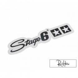 Sticker Stage6 black